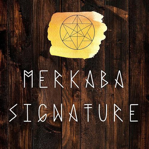 Merkaba Signature Chart