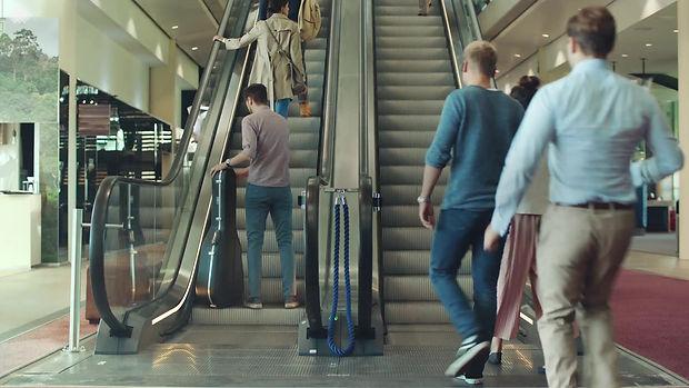 Escalator Rage