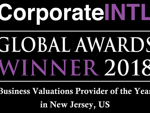 Global Awards Winner 2018 by Corporate Intl