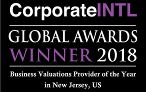 MRVConsulting - 2018 Business Valuations Provider of the Year - USA