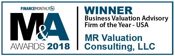 2018 Business Valuation Advisory of the Year - USA