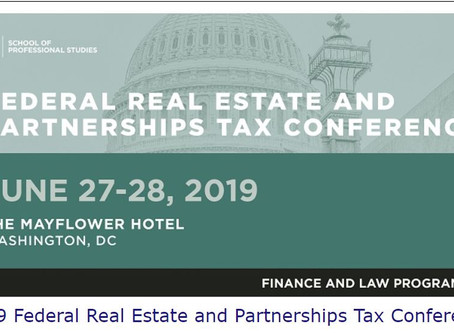 Want to learn more about the impact of the TCJA on real estate and partnership structures?