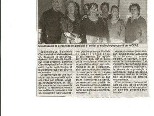 La sophrologie invitée au CCAS de Neufchâteau