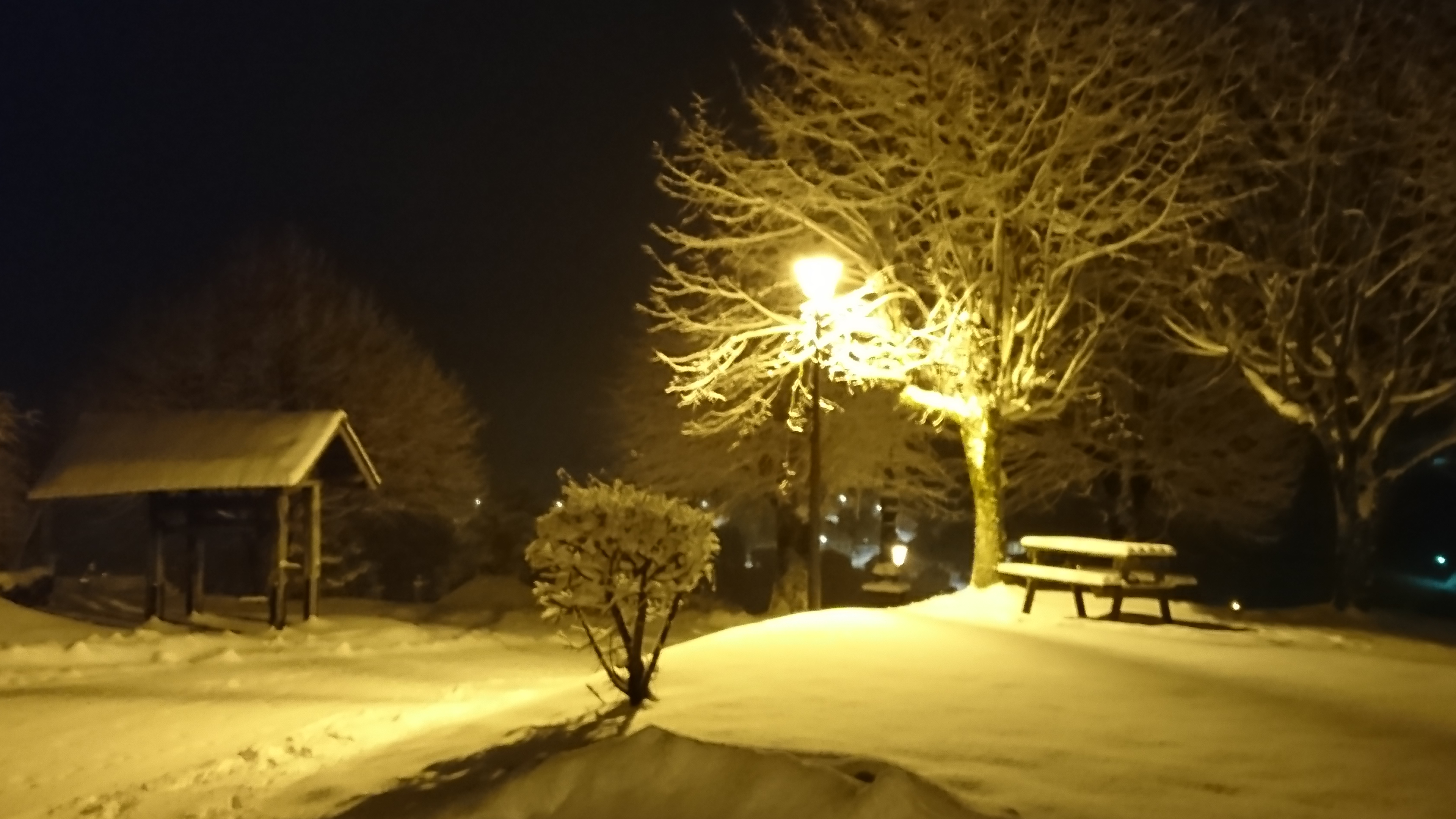 nuit dans la neige...plénitude