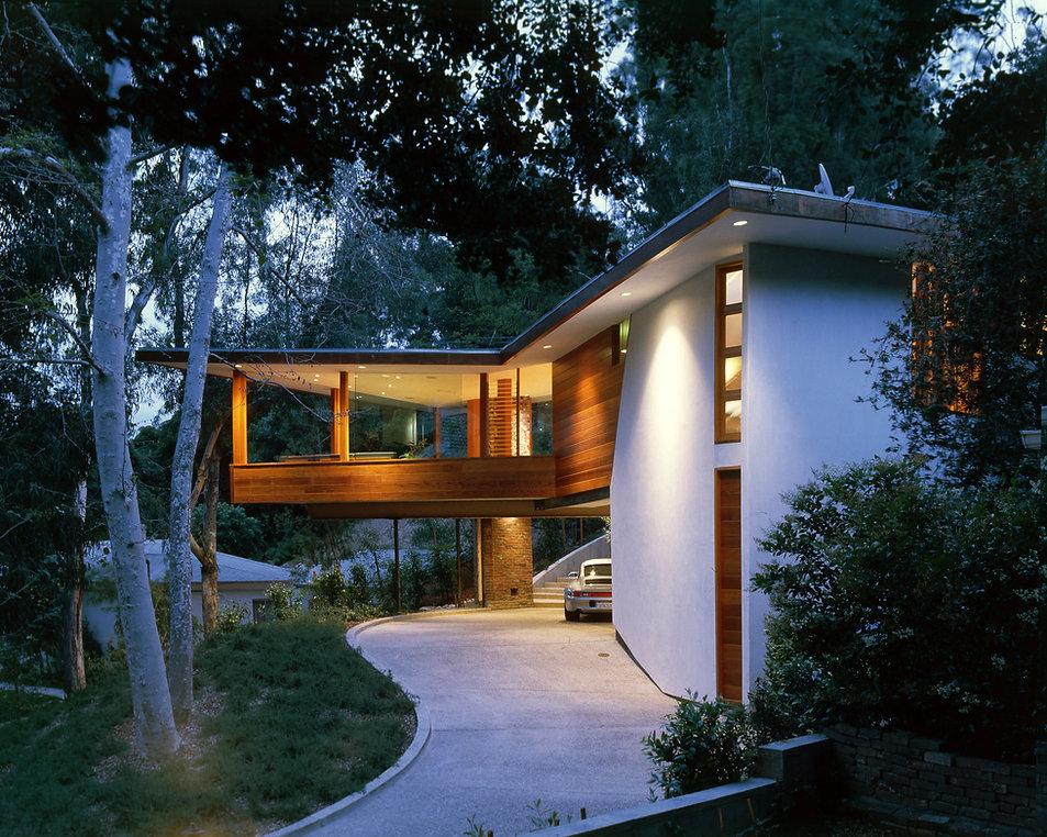 Tyler House John Lautner ©Alan Weintraub