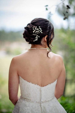 hair and makeup bride
