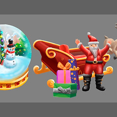 LG Christmas Assets
