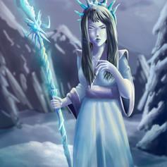 Yuki Onna- Character Design