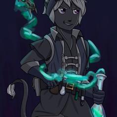 Zeek-Character Design