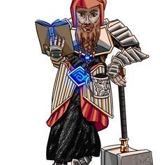 Bhen-Dwarf warrior