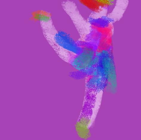Ballerina illustration