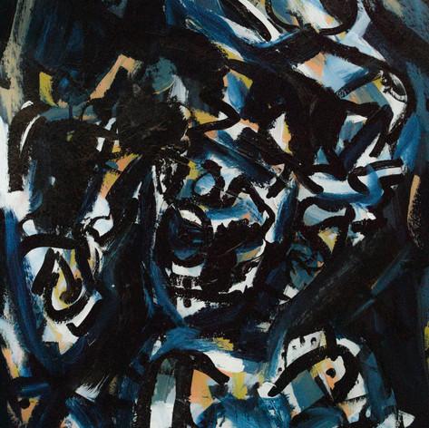 Abstract Acrilyc Portrait