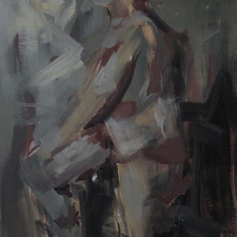 Female Acrilyc portrait