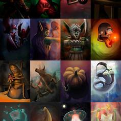 Dreams & Nightmares designs