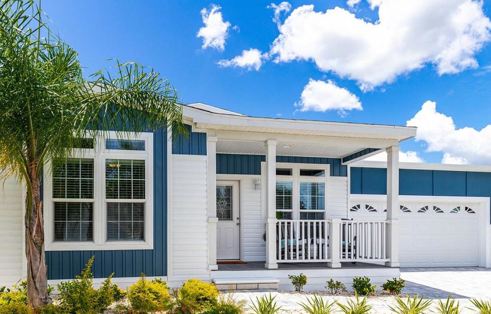New Coastal Palm, Silver Springs Elite 6400 model at Plantation Oaks of Ormond Beach