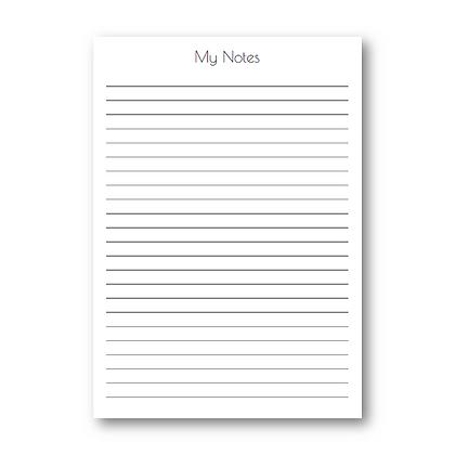 My Notes תוספת
