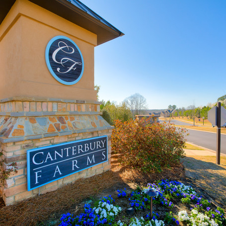Canterbury Farms - Master planned Ivey developed community located in Columbia County, GA.