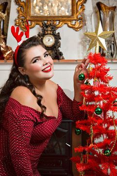 Natal Familia Rita - Pin Up - Be a Bombs