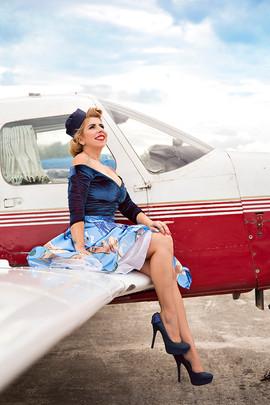Aline - Pin Up - Be a Bombshell - Aviado