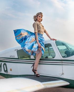 Dani - Aviadoras - Pin Up - Be a Bombshe