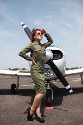 Gigi - Aviadoras - Pin Up - Be a Bombshe