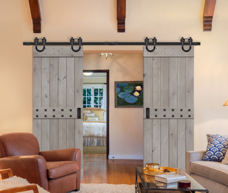rocky mountain barn door