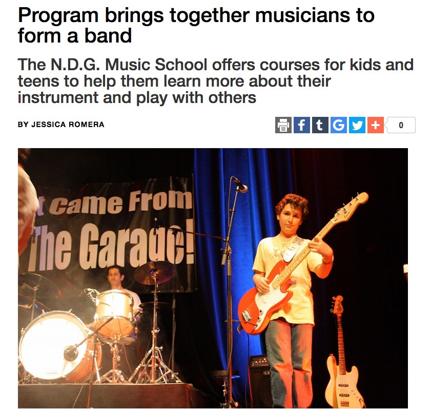 Program brings together musicians to form a band