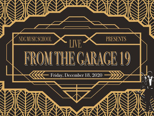 Live From The Garage 19 - Virtual Edition