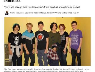 CBC.ca Article on NDG Music School
