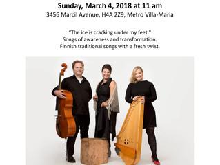 EVA-Trio coming to Montreal!
