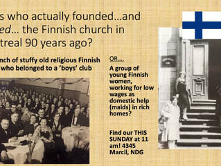 The Young Finnish Women Pioneers of Montreal