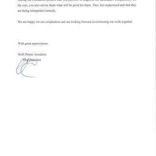 Peretz Recommendation page 2