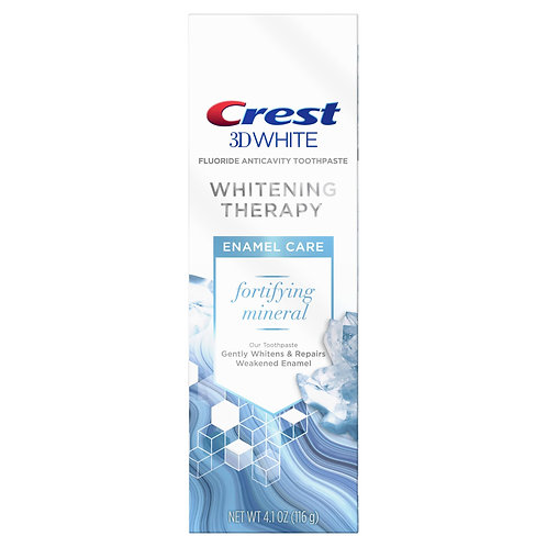 Crest 3D White Whitening Therapy Enamel Care Fluoride – Зубная паста