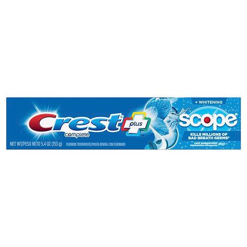 Зубная паста  Plus Scope Complete Peppermint, 153г