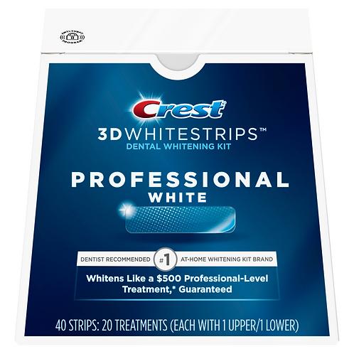 Crest 3D Whitestrips Professional White