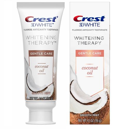 CREST 3D WHITE WHITENING THERAPY GENTLE CARE COCONUT OIL - отбеливающая зубная п