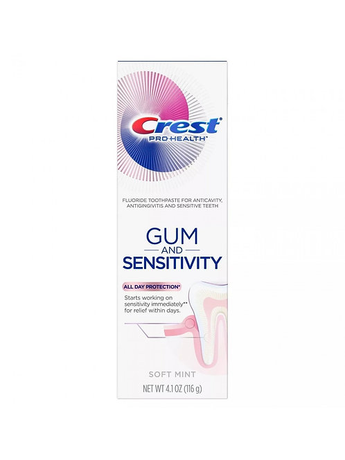 CREST PRO-HEALTH GUM AND SENSITIVITY ALL DAY PROTECTION - зубная паста