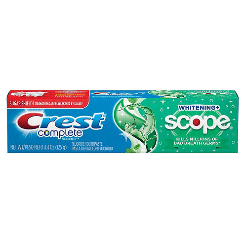 Crest Complete + Scope Minty Fresh – Зубная паста