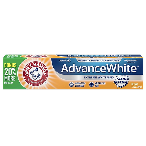 Зубная паста Arm & Hammer, Advance White 204г
