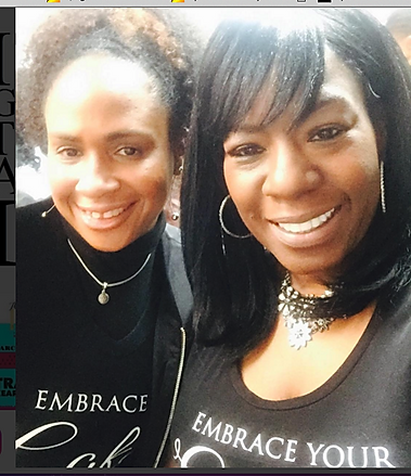 Monique Denton-Davis & Tanya Guidry-Ward at The Year of The Woman Celebration on Jan. 21st 2017 with Prime Vision PR