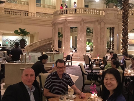 Dr. Robert Eldridge, GRMF Director for North Asia, met with GRMF Founding Directors in Manila