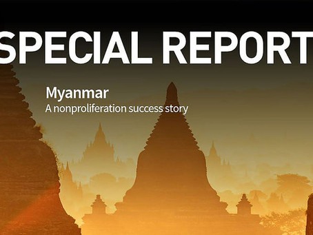 """Myanmar's recent """"change of heart"""" with nonproliferation"""