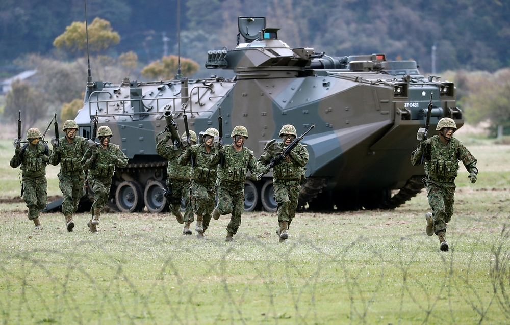 Japan Amphibious Defense Forces