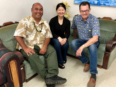 GRMF Directors meet with CNMI Secretary of Commerce
