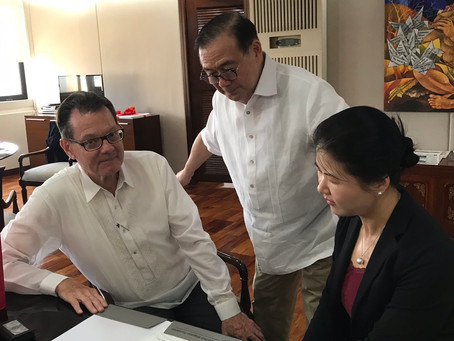 Philippine Department of Foreign Affairs,  Secretary Teodoro Locsin, Jr. reviewed GRMF capacity-buil