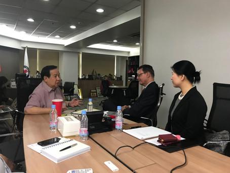 Philippine Red Cross working meeting