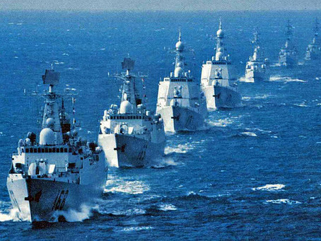 """White Warships, Little Blue Men, and Looming Conflict in the East China Sea - China's """"Short, Sharp"""