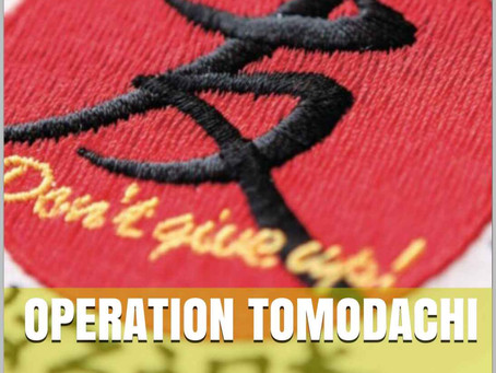 "Book Release, ""Operation Tomodachi : The Incredible Story of the United States Marine Corps Response"