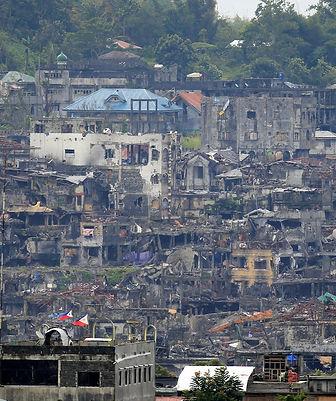Marawi, phillipines, Midanao, reconstruction, wartorn