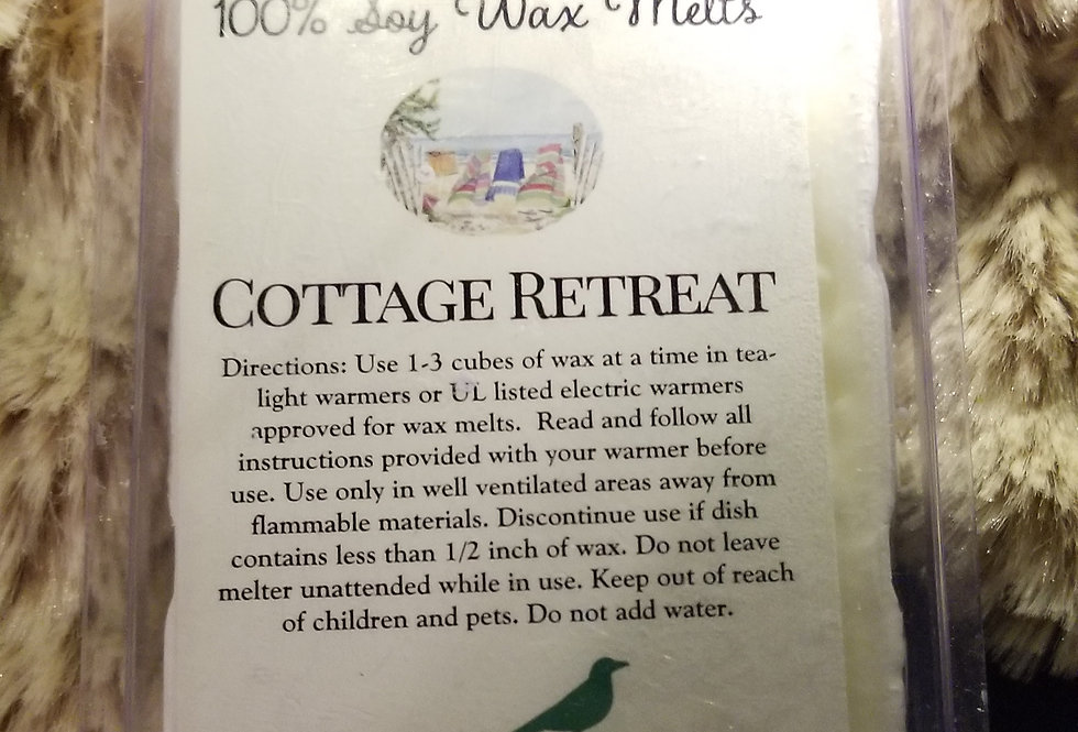 Wax Melts - Cottage Retreat